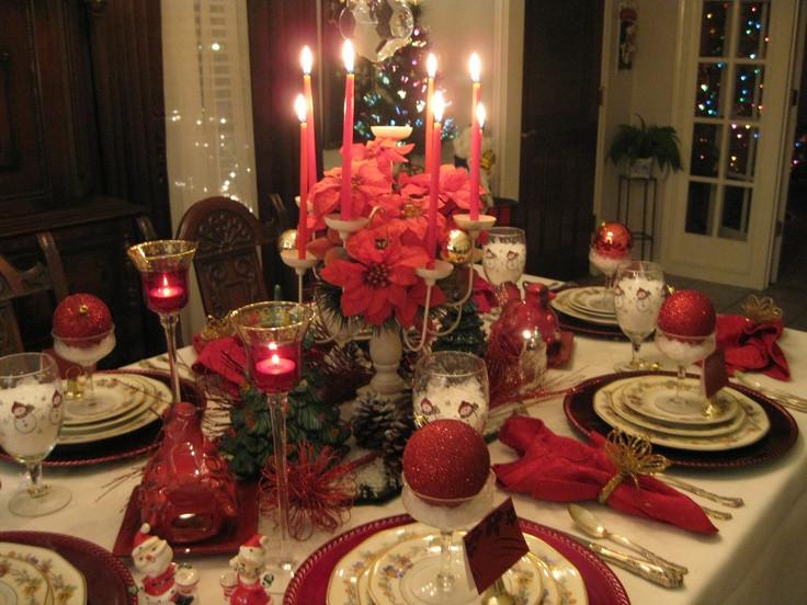 Christmas Eve Dinners  Christmas Eve Dinner My Tablescapes