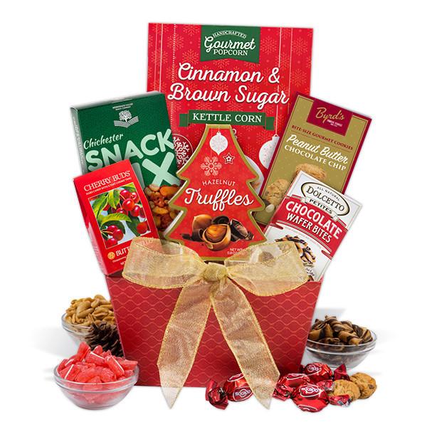 Christmas Food Gifts Baskets  Christmas Food Basket by GourmetGiftBaskets