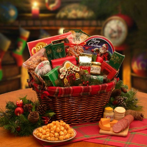 Christmas Food Gifts Baskets  Best Christmas Gift Baskets To Give To Your Loved es