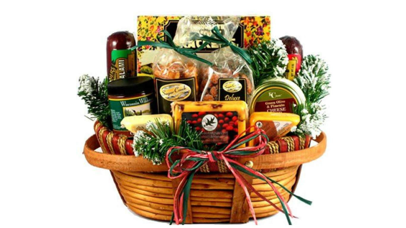 Christmas Food Gifts Baskets  Top 20 Best Cheese Gift Baskets