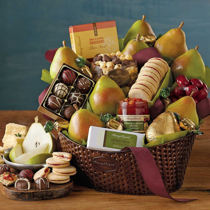 Christmas Food Gifts Baskets  1000 images about Holiday Tenant Gift Ideas on Pinterest