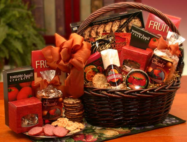 Christmas Food Gifts Baskets  Top 8 Christmas Gift Baskets Ideas by chockyfoo