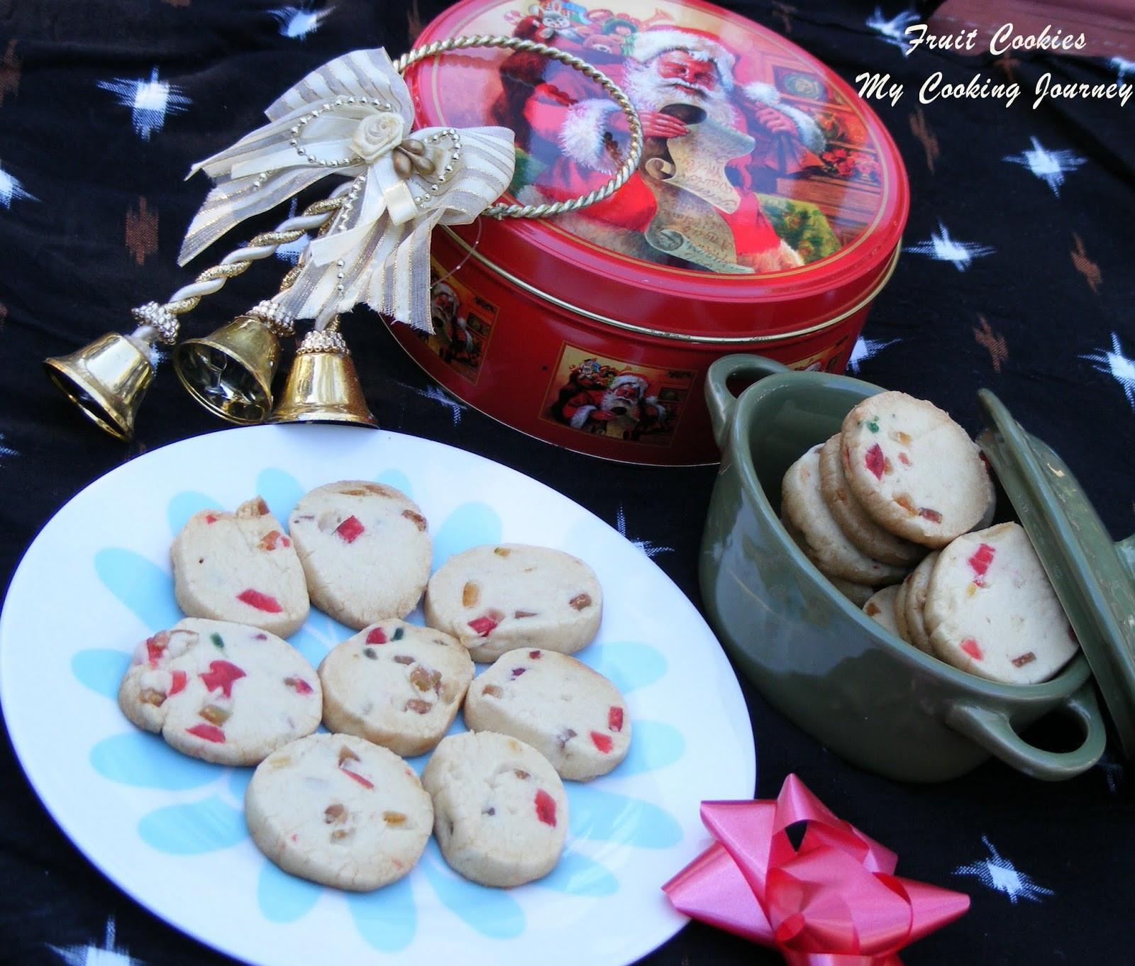 Christmas Fruit Cookies  My Cooking Journey Fruit Cookies Christmas Fruit Cookies
