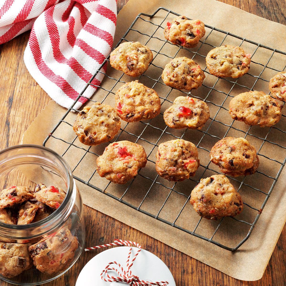 Christmas Fruit Cookies  Fruitcake Christmas Cookies Recipe