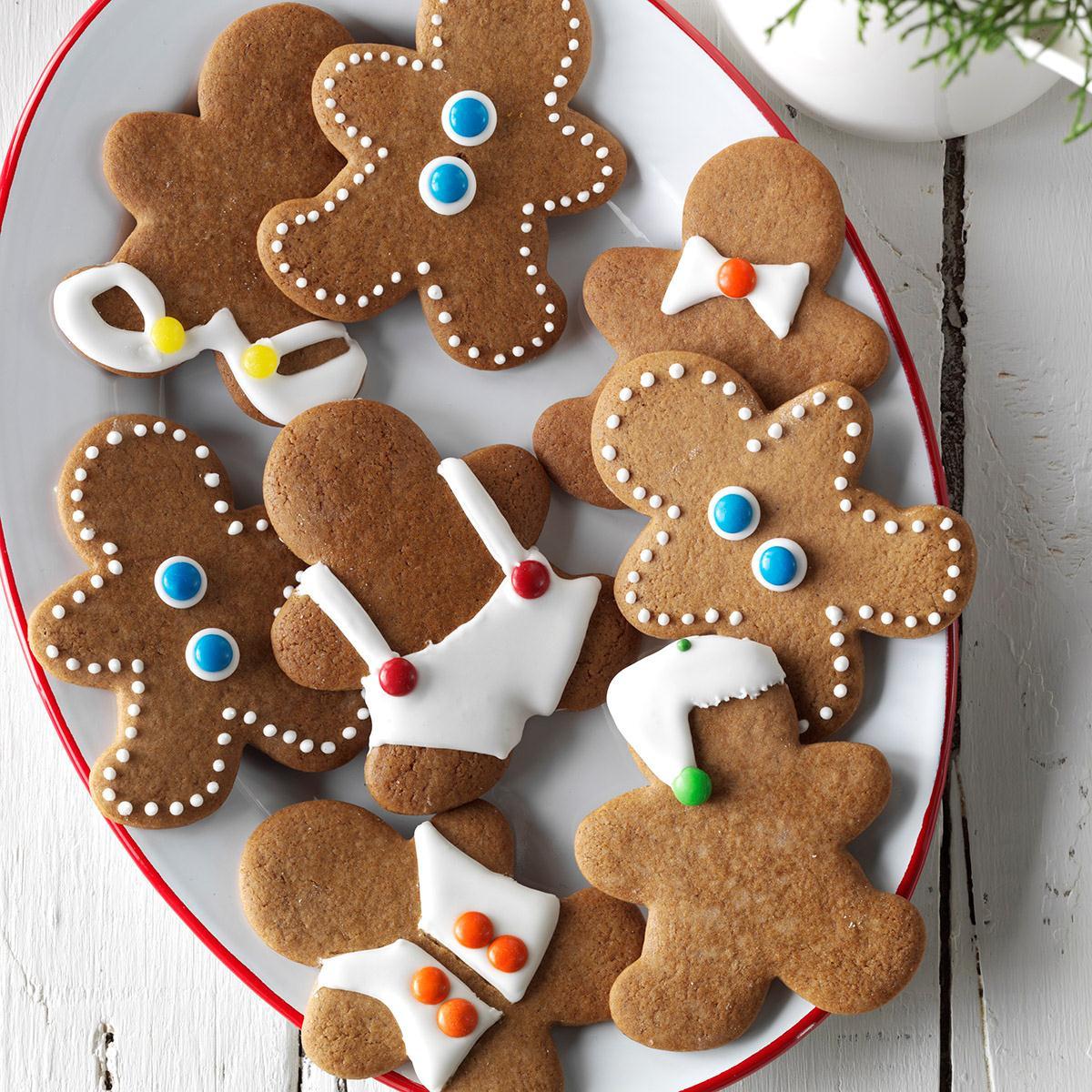 Christmas Ginger Cookies  Gingerbread Men Cookies Recipe