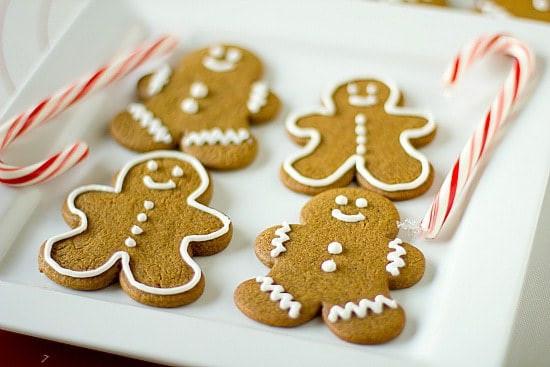 Christmas Ginger Cookies  Gingerbread Men Cookies