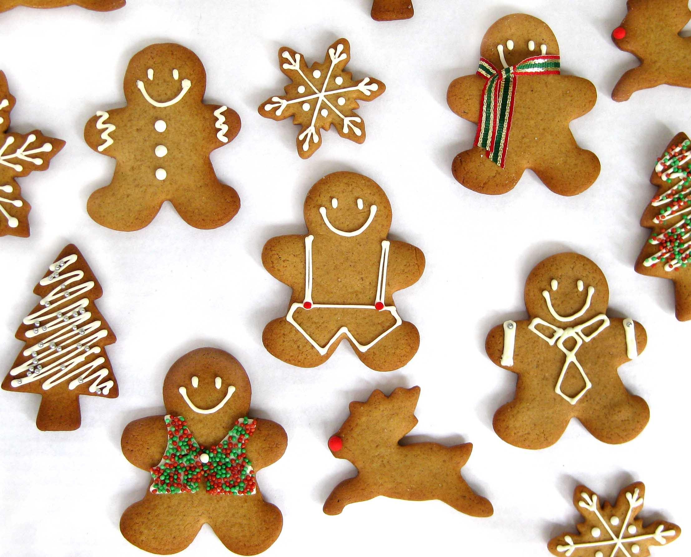 Christmas Ginger Cookies  Ho Ho Ho – It's Gingerbread Time