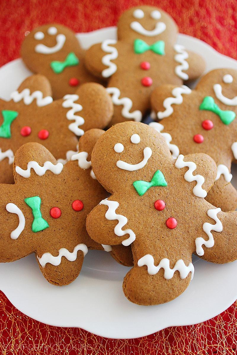 Christmas Ginger Cookies  Heartwarming Winter Desserts – Rou s Sweet Corner