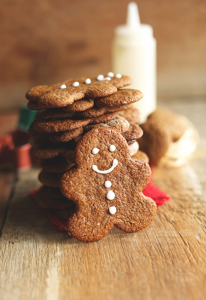 Christmas Ginger Cookies  The Best Vegan Christmas Cookies Jillian Harris