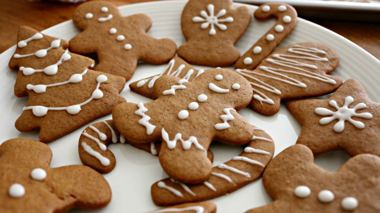 Christmas Ginger Cookies  Christmas Gingerbread Men Cookies