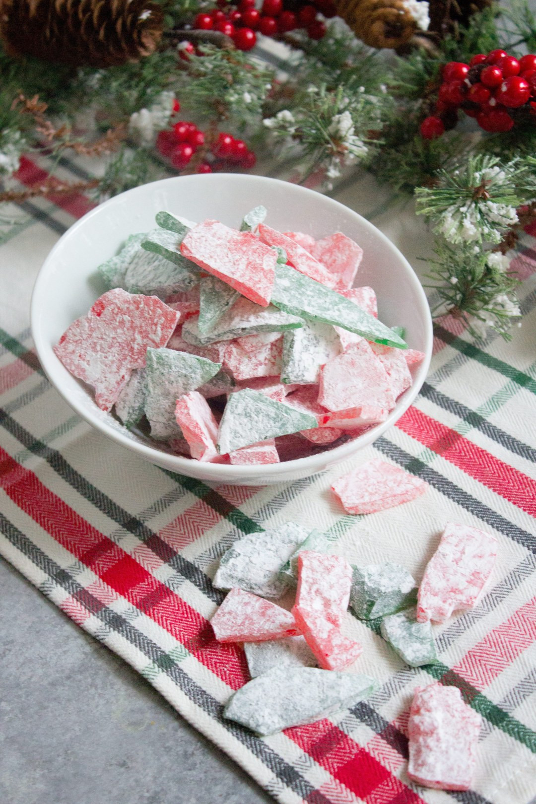 Christmas Glass Candy  Stained Glass Candy
