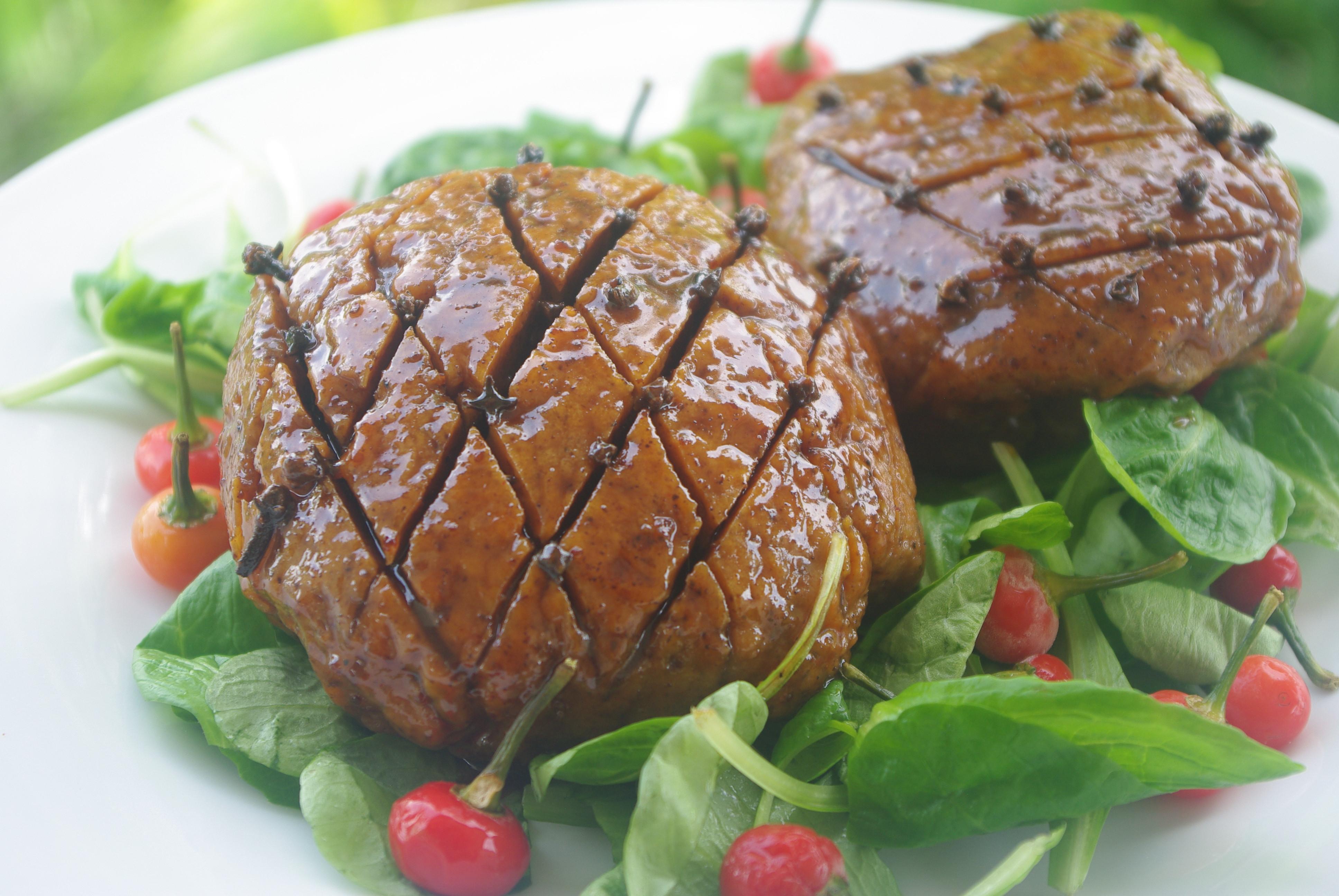 Christmas Ham Recipes  Holiday Ham Recipe from Caribbean Vegan