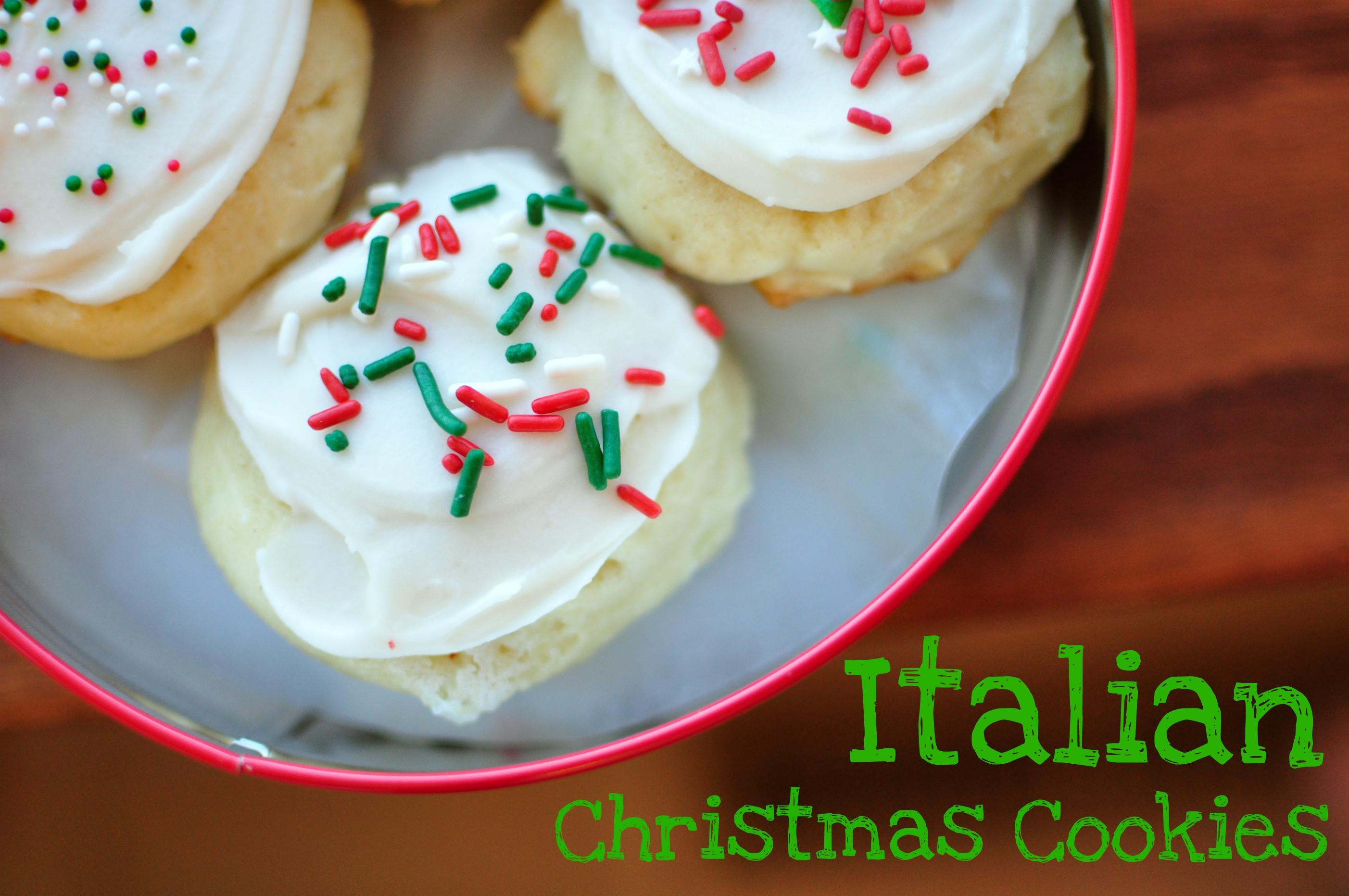 Christmas Italian Cookies  Italian Christmas Cookies 12 Weeks of Christmas Cookies