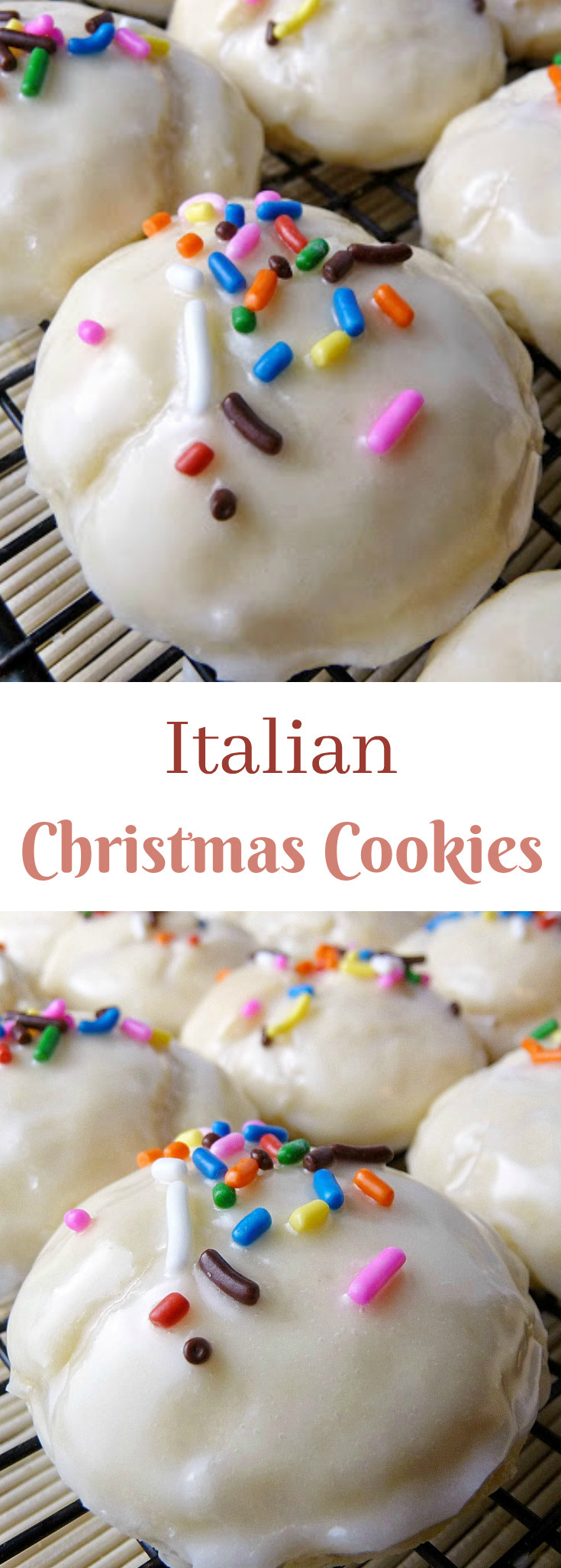Christmas Italian Cookies  Italian Christmas Cookies Grumpy s Honey Bunch