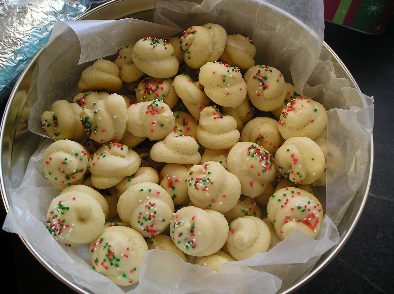 Christmas Italian Cookies  Julie Fergus ASID