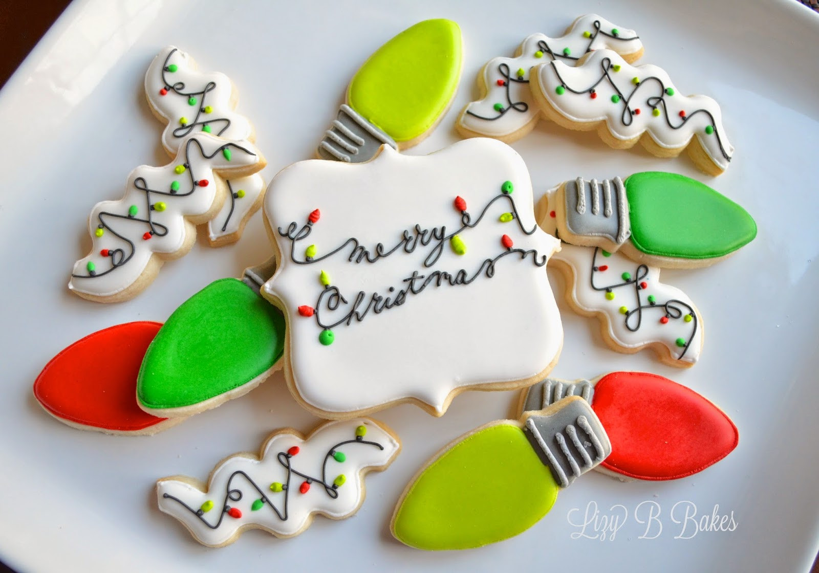 Christmas Light Cookies  Lizy B Christmas Lights Cookies