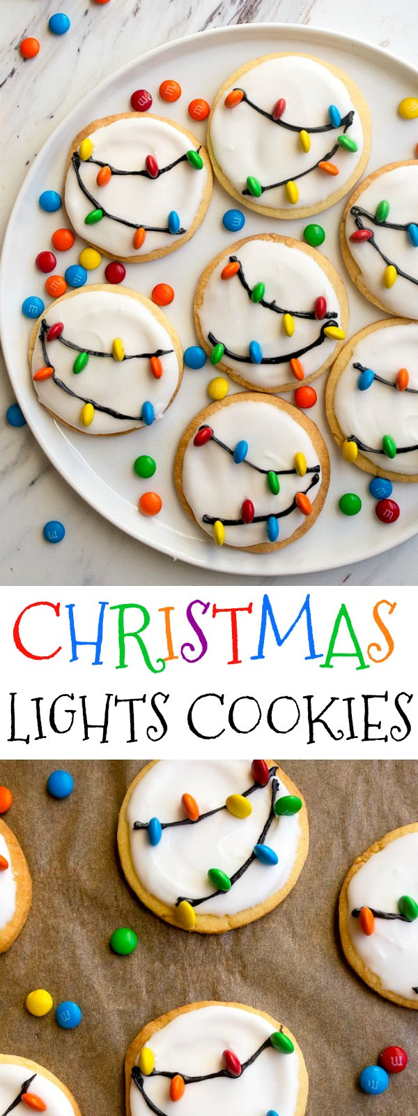 Christmas Light Cookies  Christmas Lights Cookies with Royal Icing