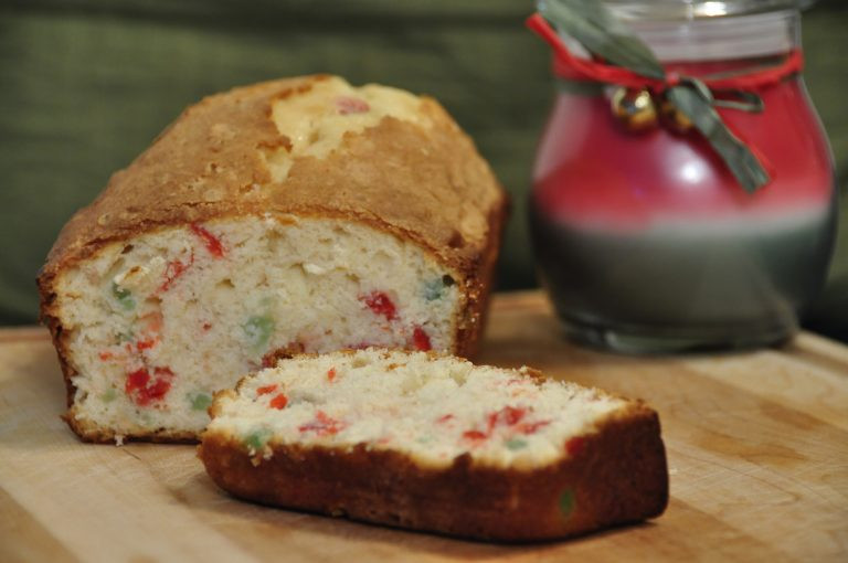 Christmas Loaf Cakes  Festive Cherry Pound Cake