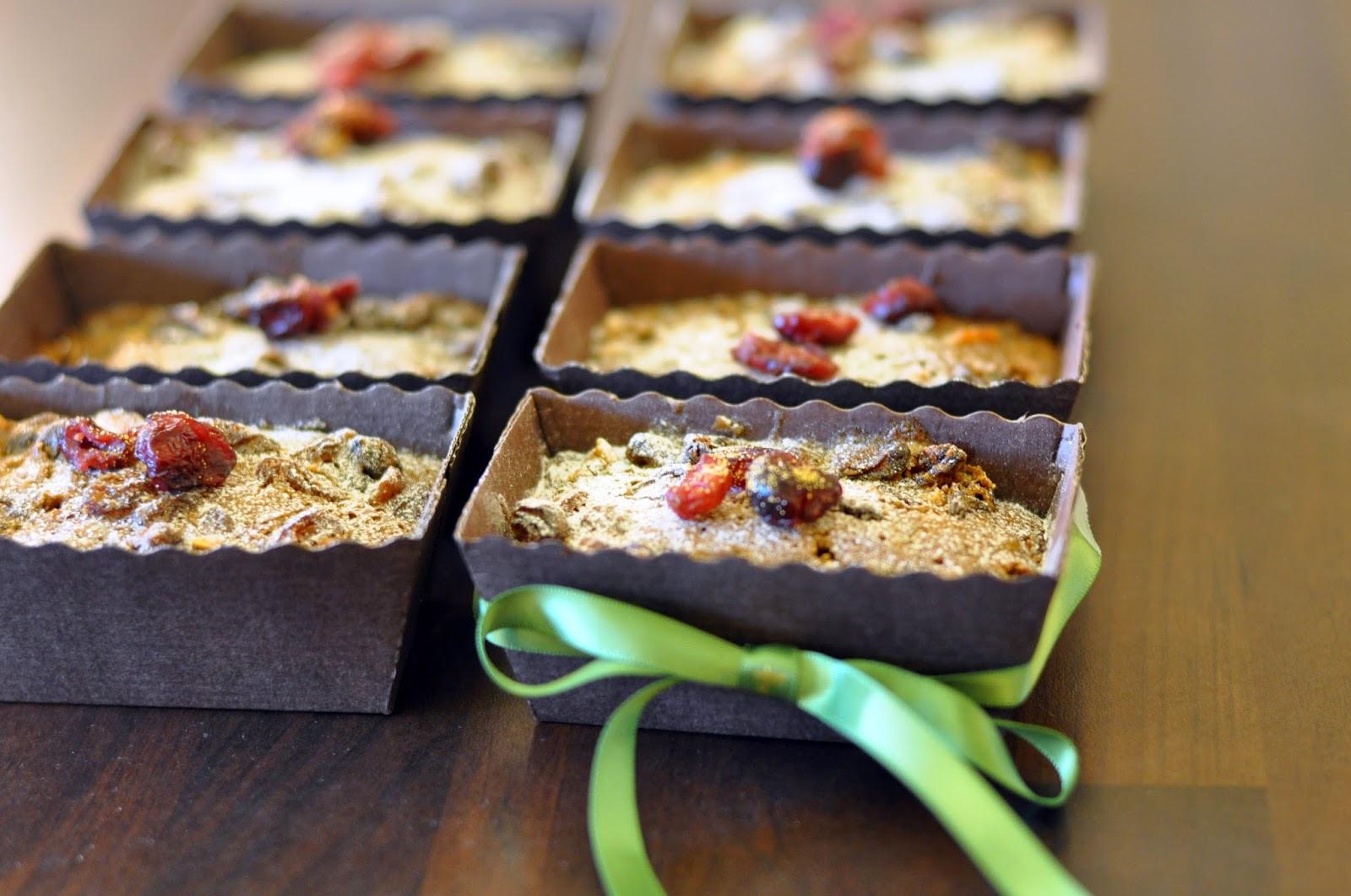 Christmas Loaf Cakes  Recipe Mini Christmas Cakes