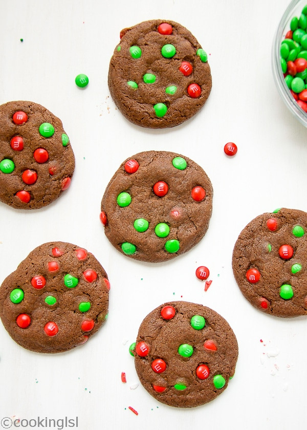 Christmas M And M Cookies  Chocolate M&M Cookies And Holiday Recipes I Love