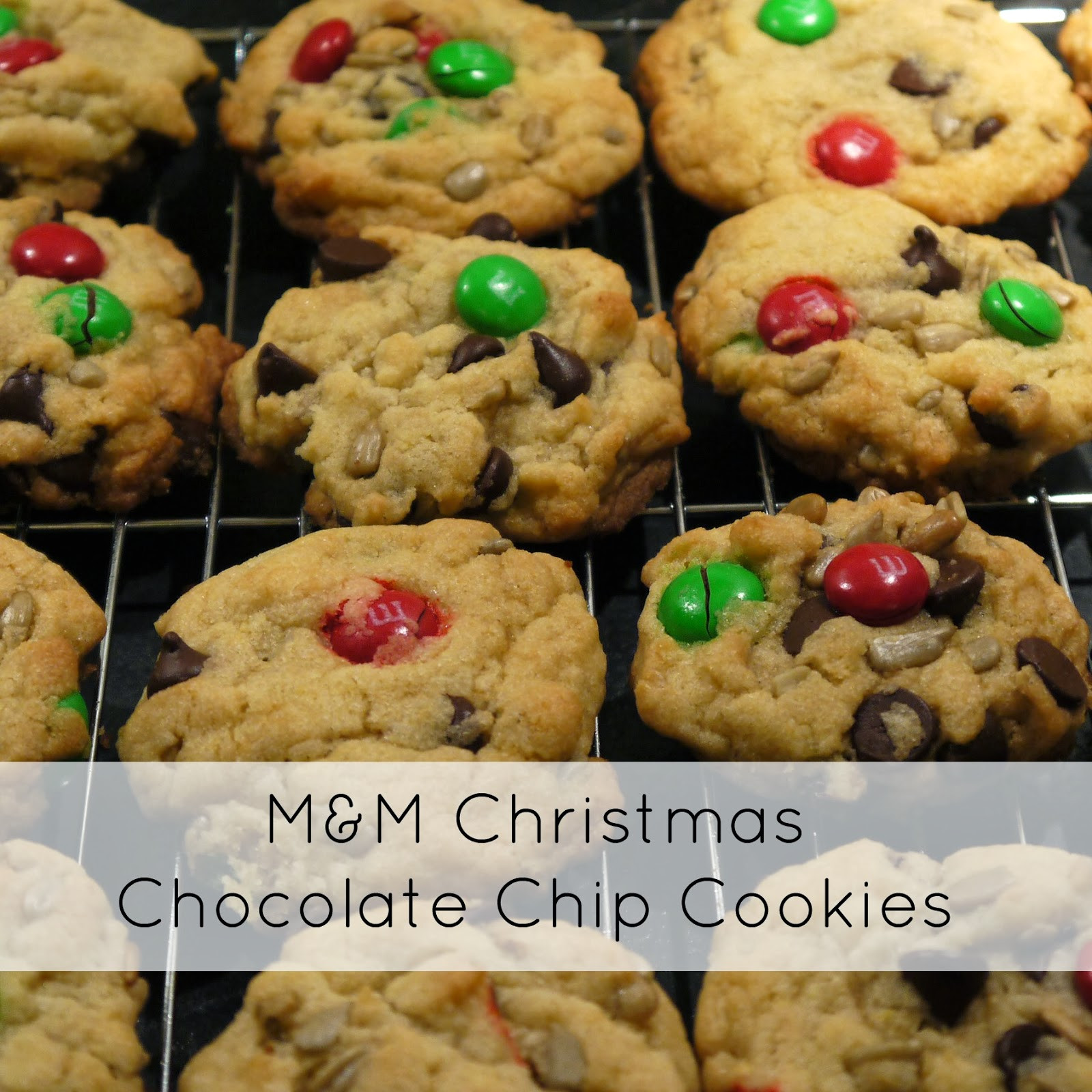 Christmas M And M Cookies  Sense and Simplicity Christmas Cookie Week M&M