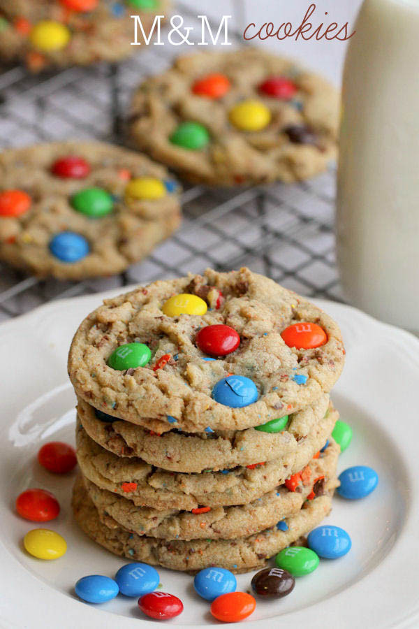 Christmas M And M Cookies  BEST M&M Cookies Recipe
