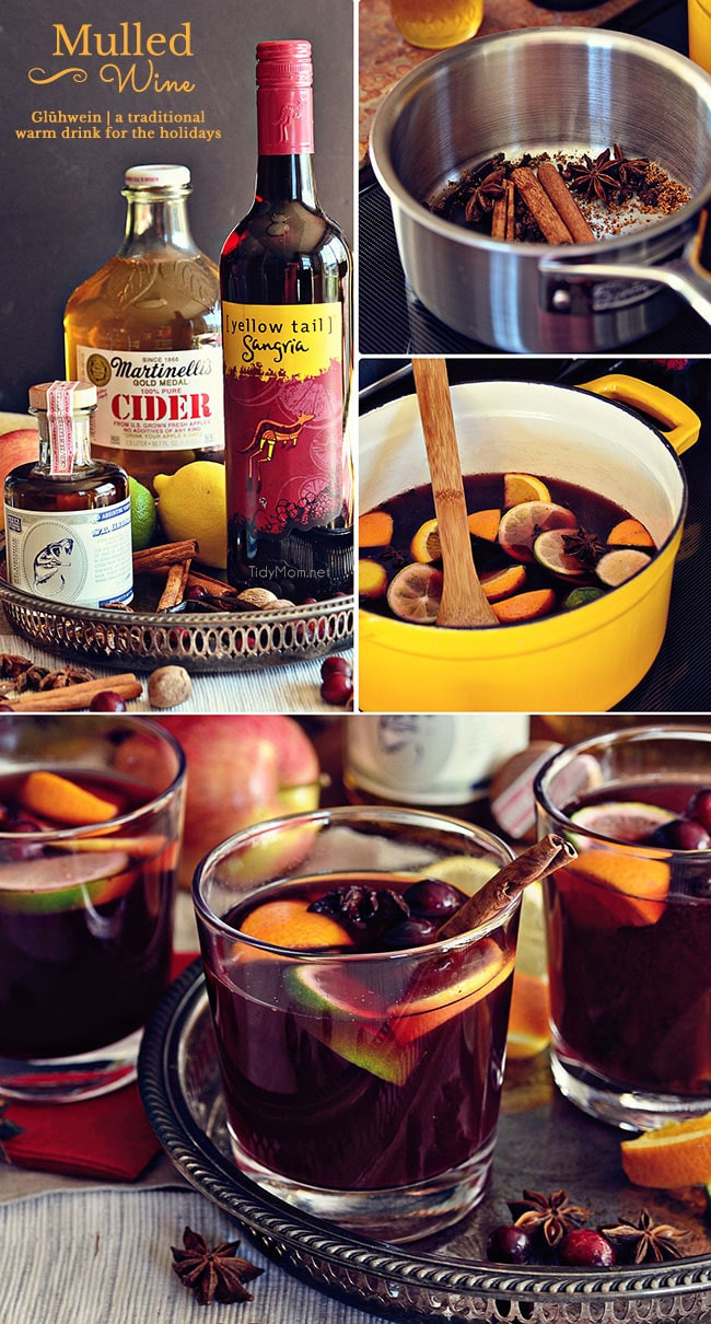 Christmas Mulled Wine  German Mulled Wine Glühwein
