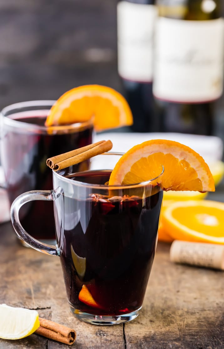 Christmas Mulled Wine  Holiday Spiced Mulled Wine
