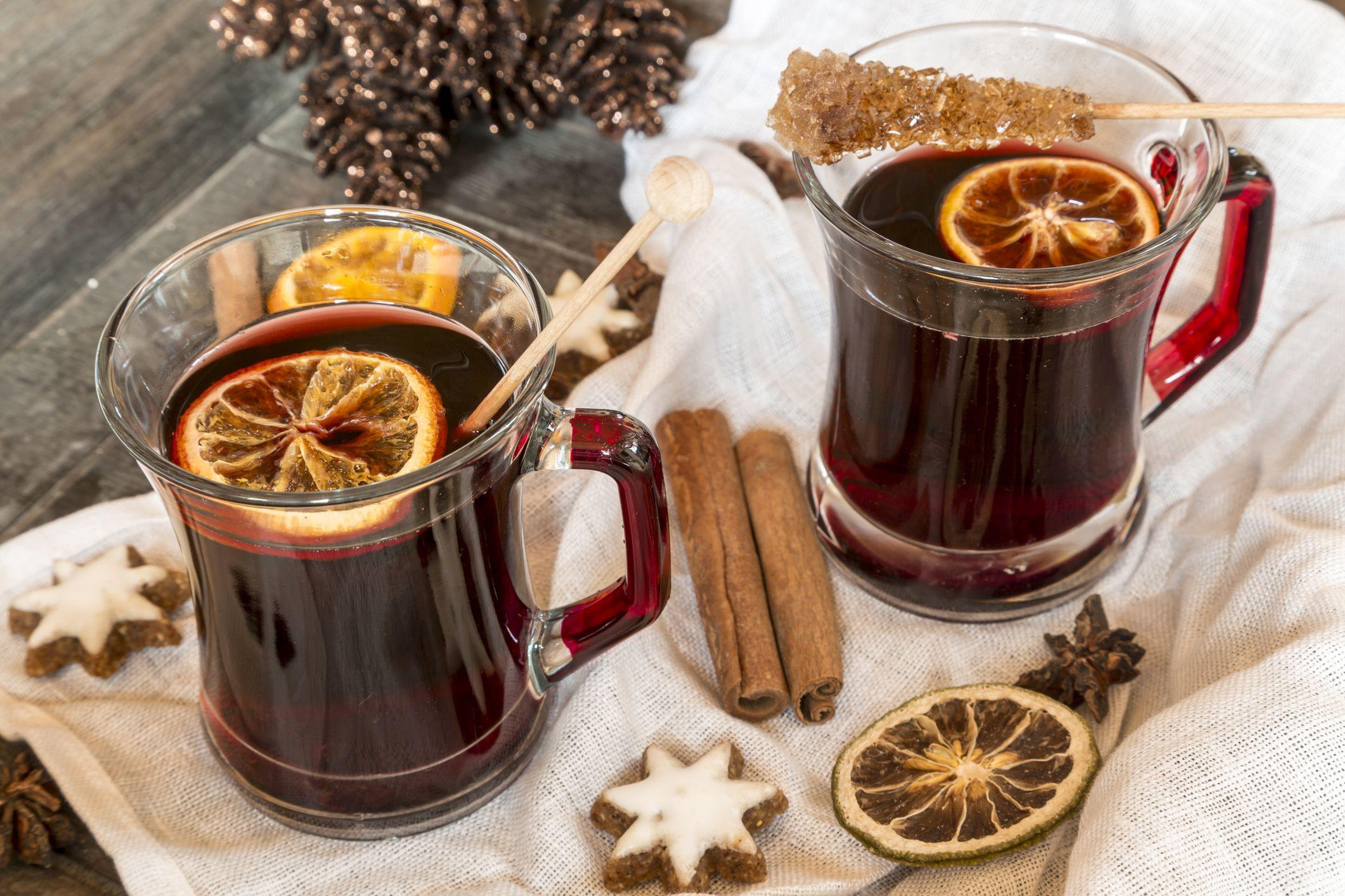Christmas Mulled Wine  Bischopswijn Dutch Mulled Wine Recipe