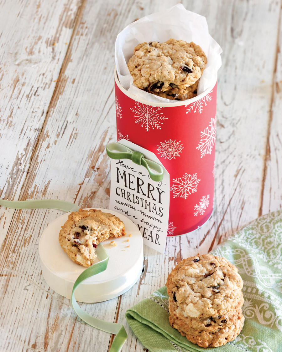Christmas Oatmeal Cookies  Taste of Christmas Oatmeal Cookies Taste of the South