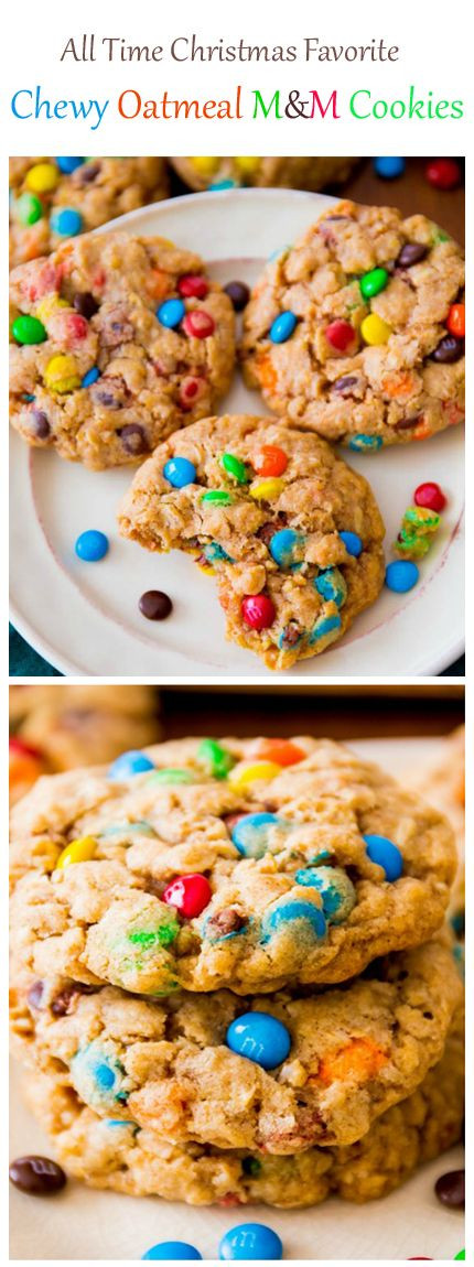 Christmas Oatmeal Cookies  best Winter Christmas images on Pinterest