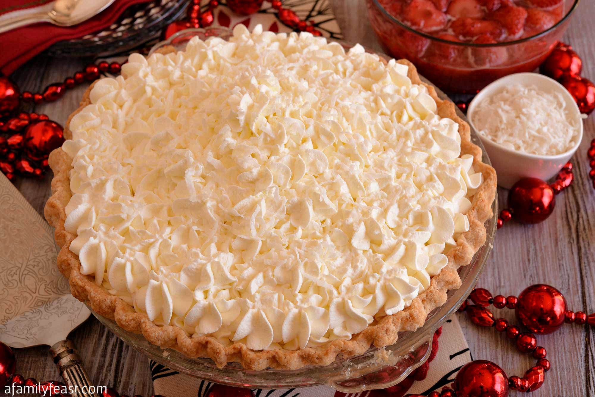 Christmas Pie Recipes  White Christmas Pie A Family Feast
