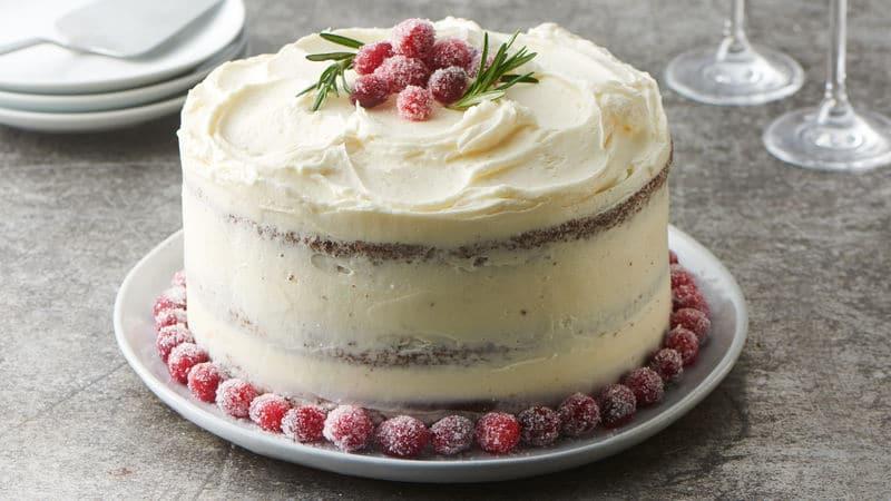 Christmas Pies And Cakes  Christmas Cake Recipes BettyCrocker