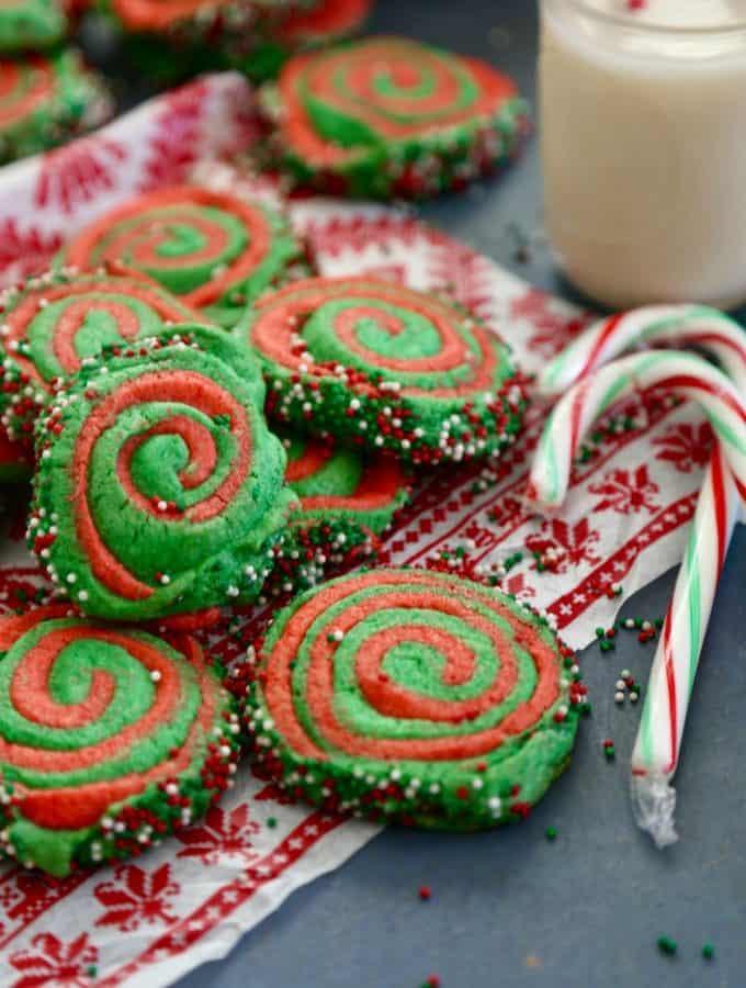 Christmas Pinwheel Cookies  Home The Seaside Baker