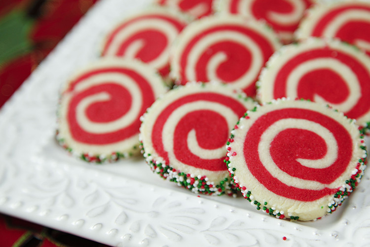Christmas Pinwheel Cookies  Christmas Pinwheel Cookies Holiday Cookies