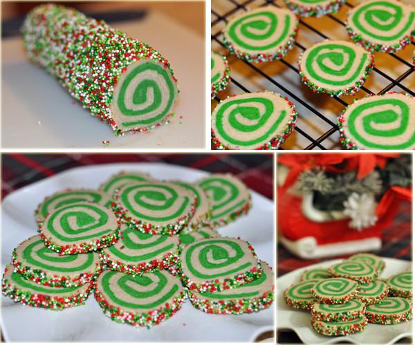 Christmas Pinwheel Sugar Cookies  Christmas Pinwheel Cookies Mommy s Fabulous Finds