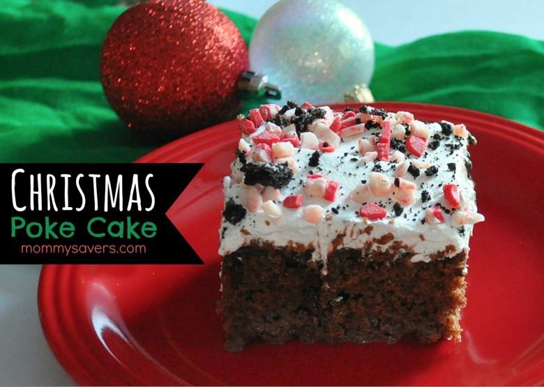 Christmas Poke Cake  Christmas Poke Cake Mommysavers