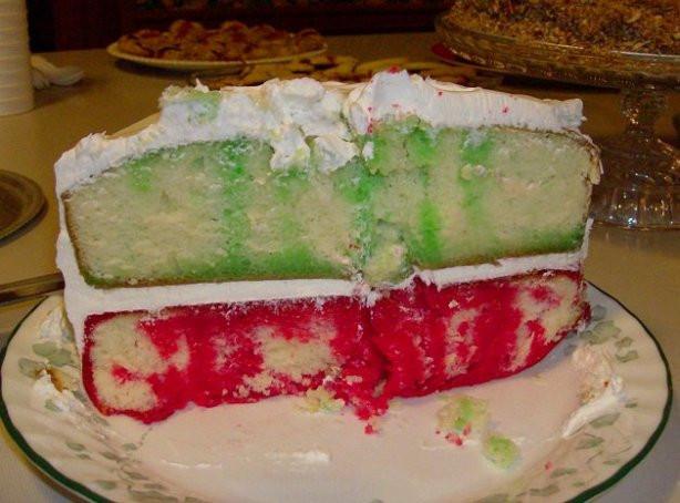 Christmas Poke Cake  Holiday Poke Cake Recipe Food