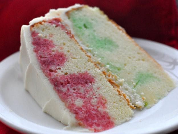 Christmas Poke Cake  Holiday Jell O Poke Cake Recipe