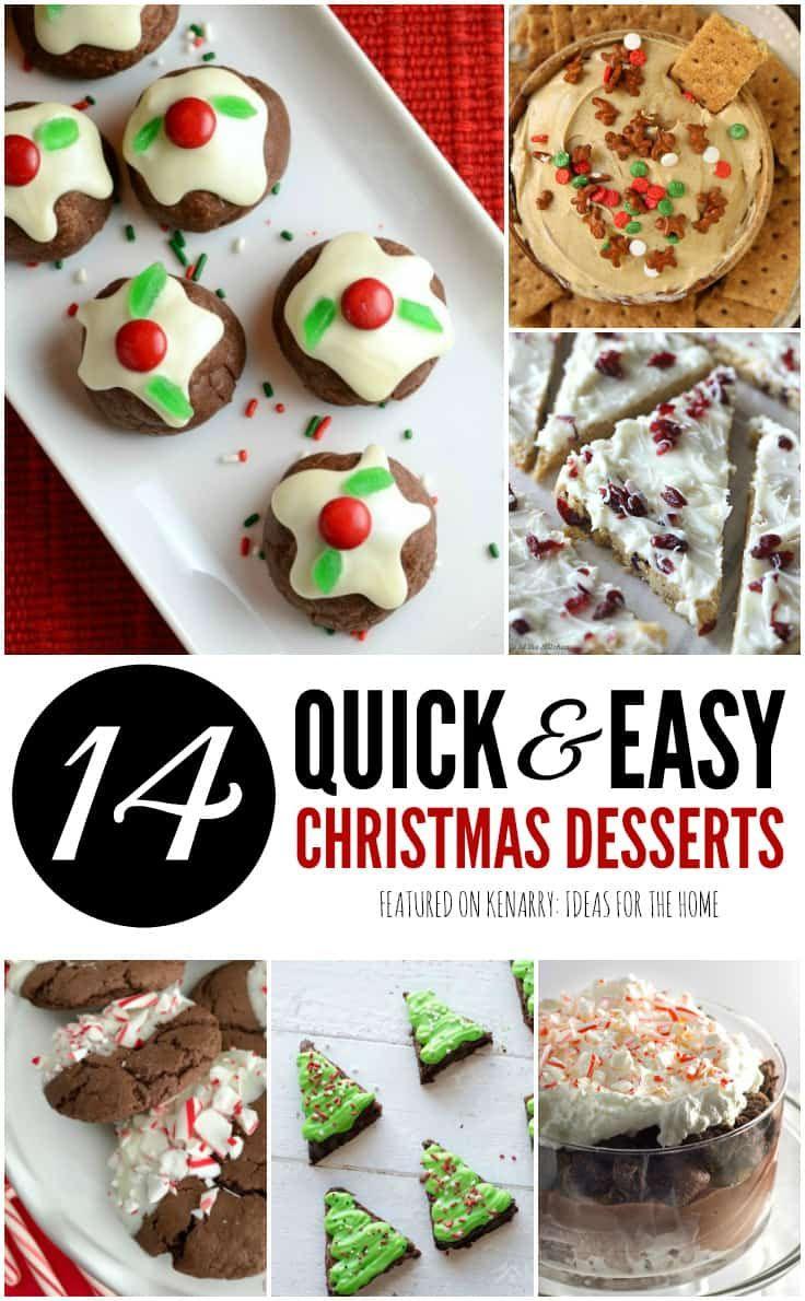 Christmas Potluck Desserts  Easy Dessert Recipes 14 Christmas Potluck Ideas