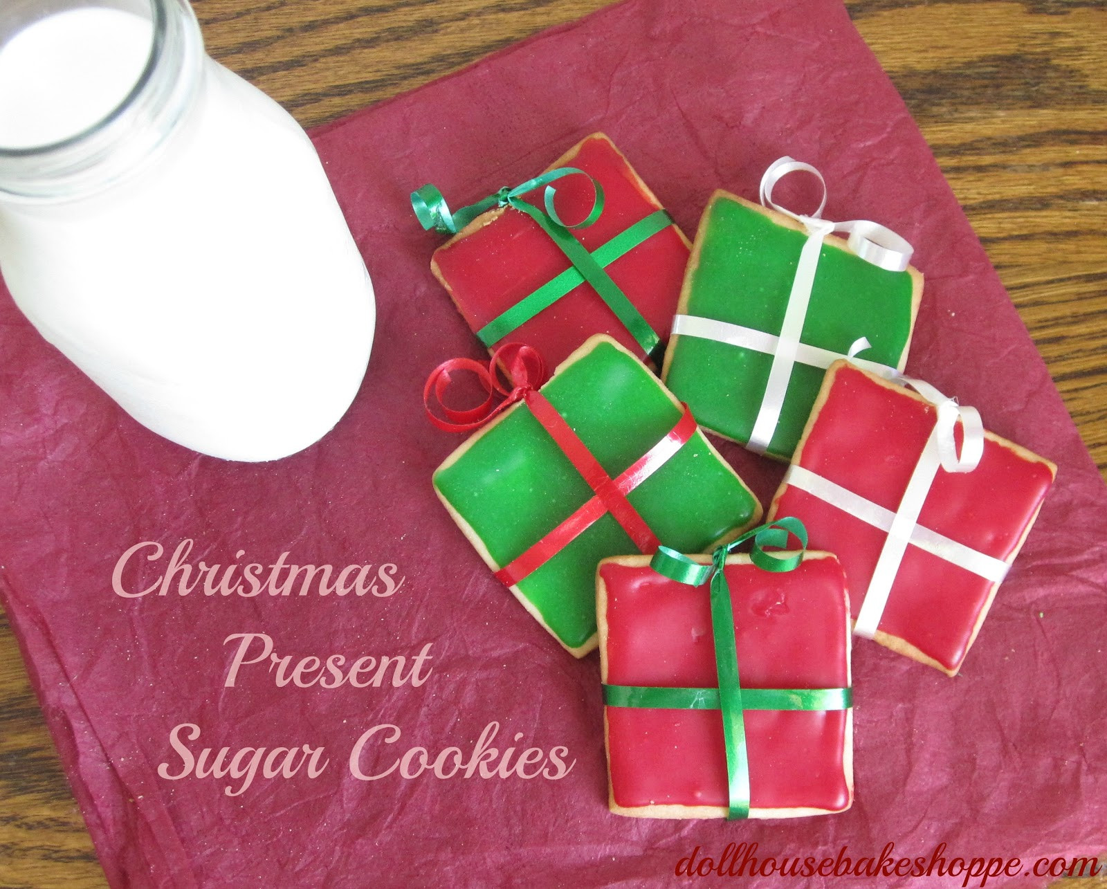 Christmas Present Cookies  Christmas Present Sugar Cookies A Southern Fairytale