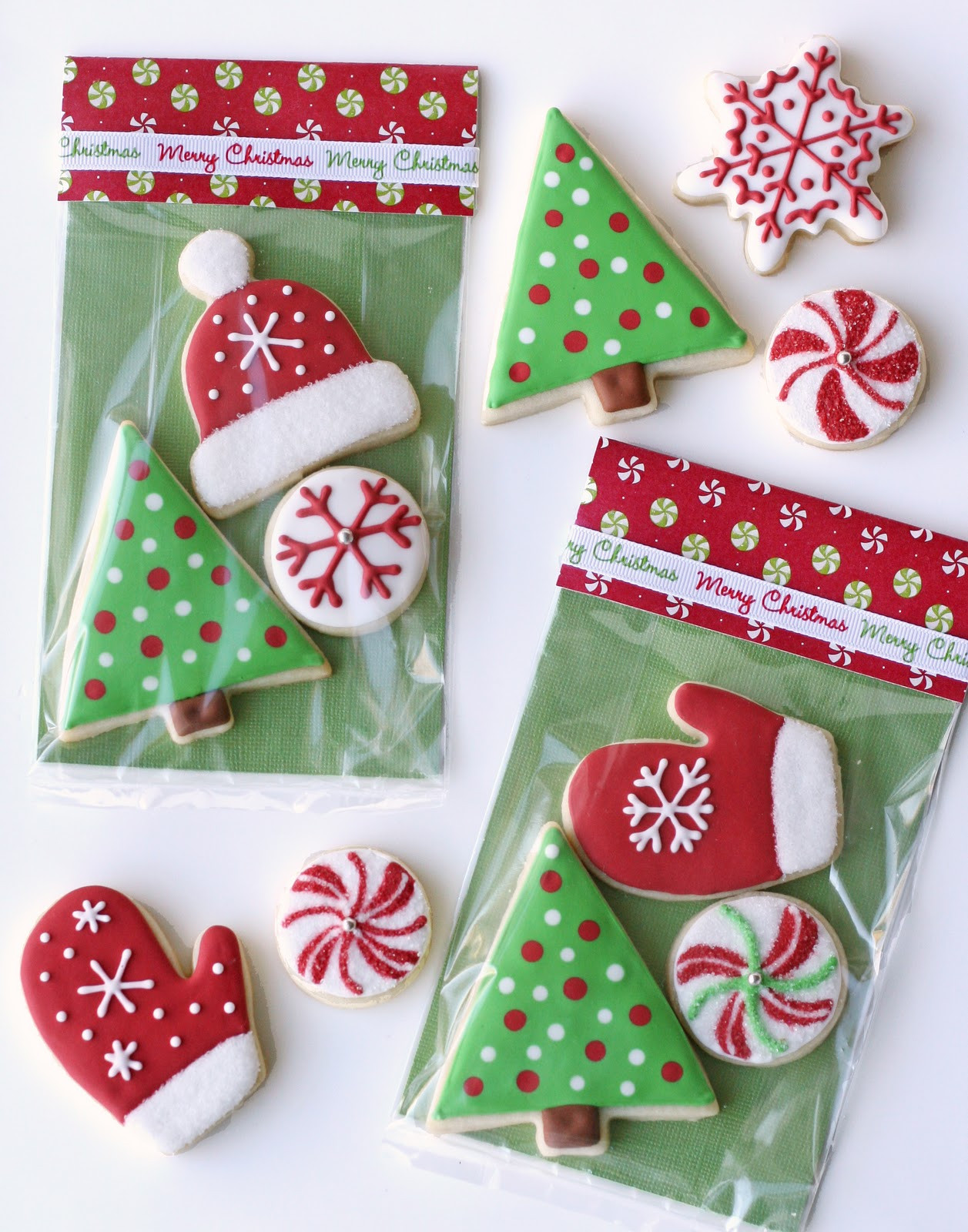 Christmas Present Cookies  Christmas Cookies and Cute Packaging – Glorious Treats