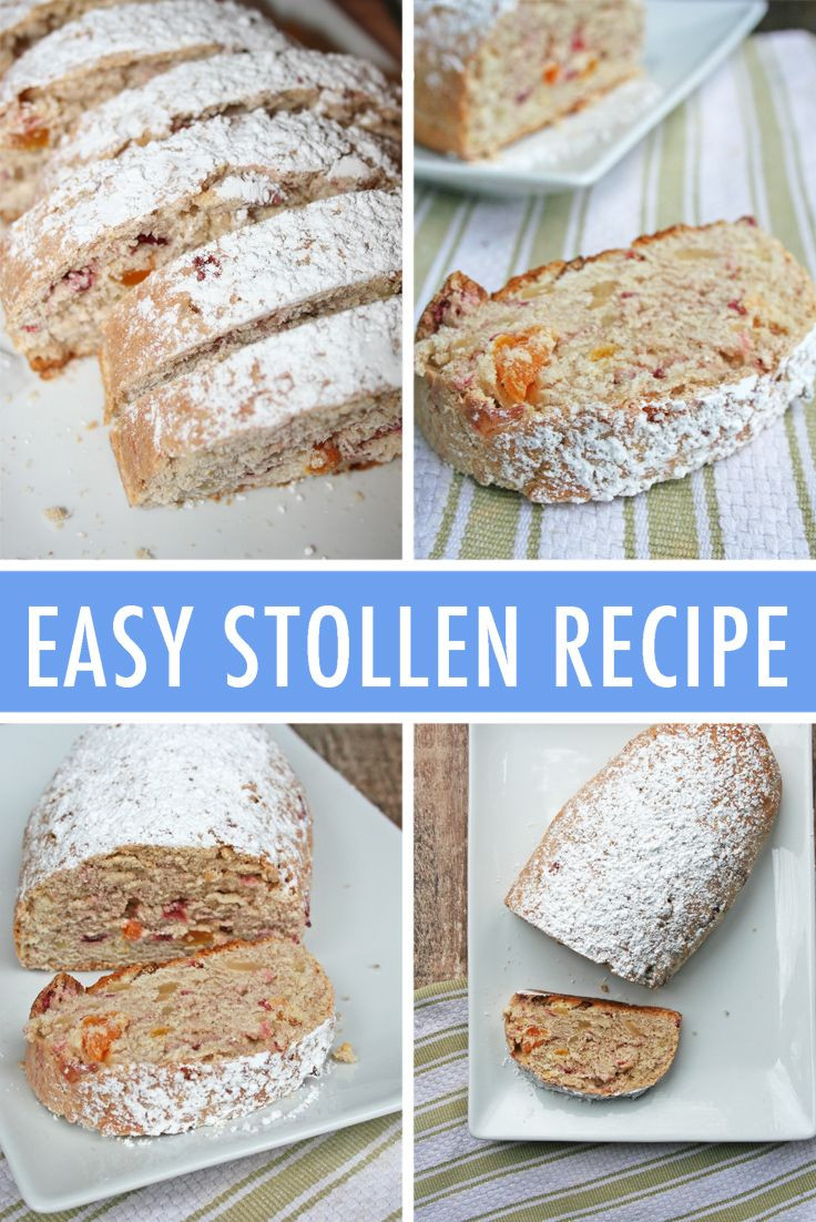 Christmas Quick Bread Recipe  Easy Stollen Recipe Homemade Stollen Bread Tutorial