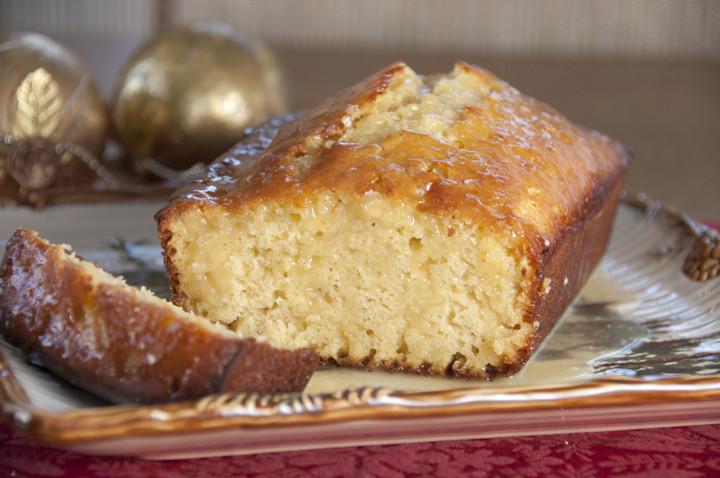 Christmas Quick Bread Recipe  Orange Glazed Eggnog Quick Bread