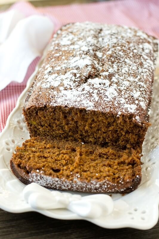 Christmas Quick Bread Recipes  Gingerbread Loaf Soft moist molasses quick bread with