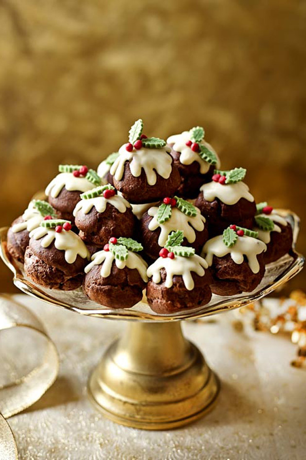Christmas Recipes Desserts  Unbelivably good chocolate Christmas desserts Woman s own