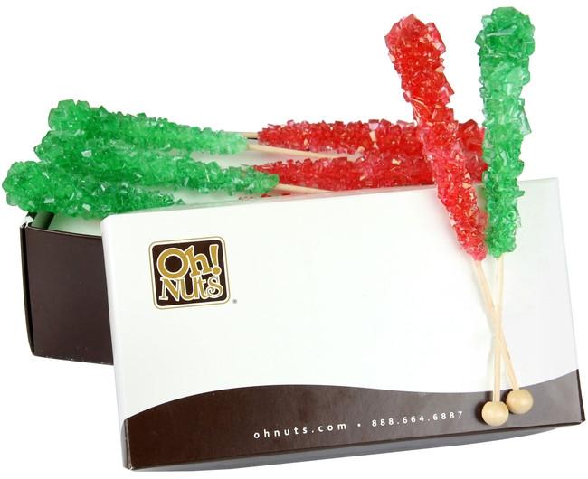 Christmas Rock Candy  Christmas Rock Candy Crystal Sticks Strawberry & Lime