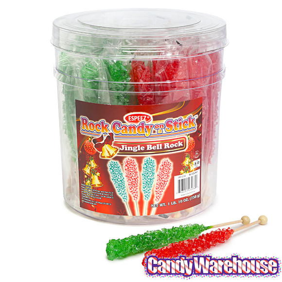 Christmas Rock Candy  Christmas Rock Candy Sticks
