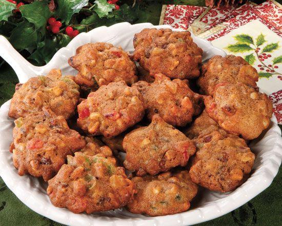 Christmas Rock Cookies  English Rocks a wonderful fruitcake like cookie