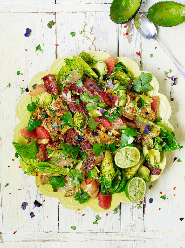Christmas Salads Recipes Jamie Oliver  LA Style Turkey Salad Turkey Recipes